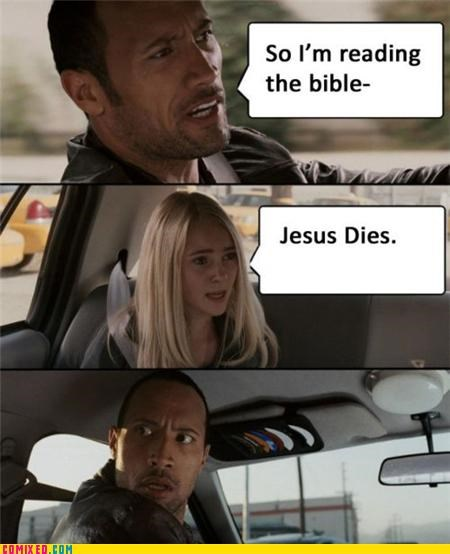 bible From the Movies jesus spoiler the rock - 4823040768