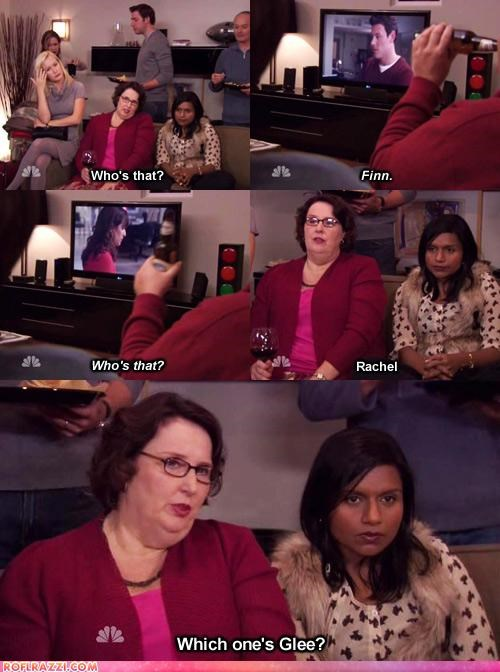 comic funny mindy kaling phyllis smith the office TV - 4823080192