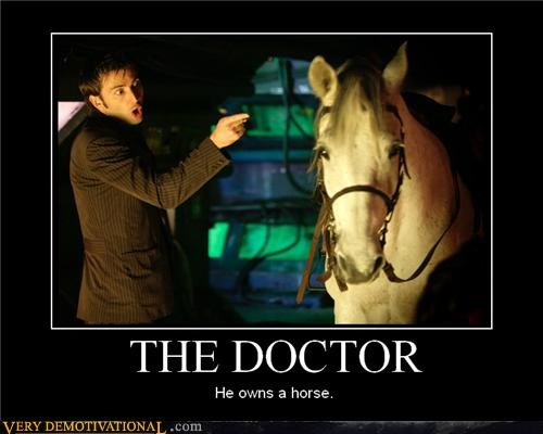 doctor who hilarious horse TV wtf - 4823154944
