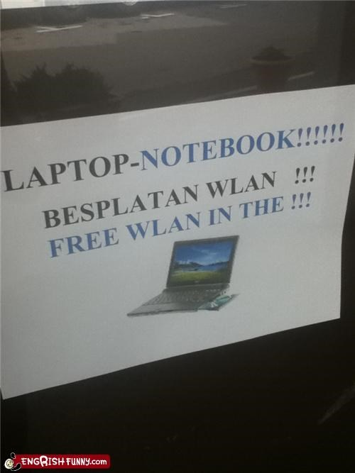 Free Wlan In The!!!