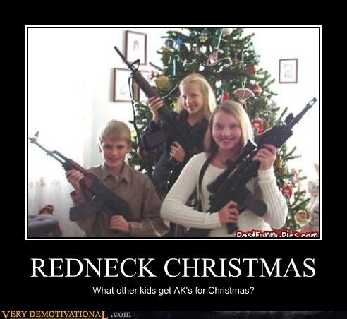 awesome christmas AK-47 guns hilarious - 4823476480
