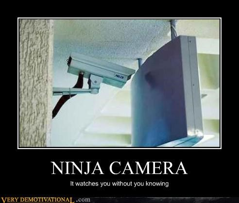 bad idea,camera,hilarious,ninja,sign,wtf