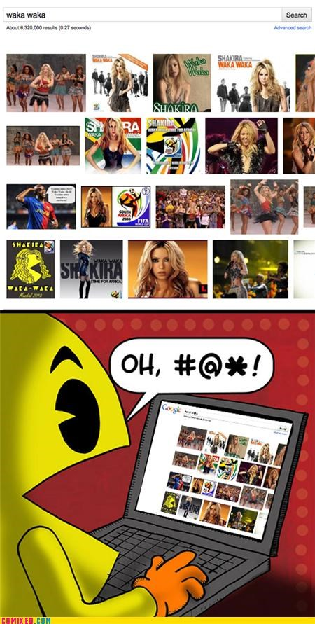 pac man shakira South Africa video games waka waka world cup - 4823898368