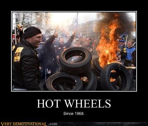hilarious Hot Wheels tires - 4824247552