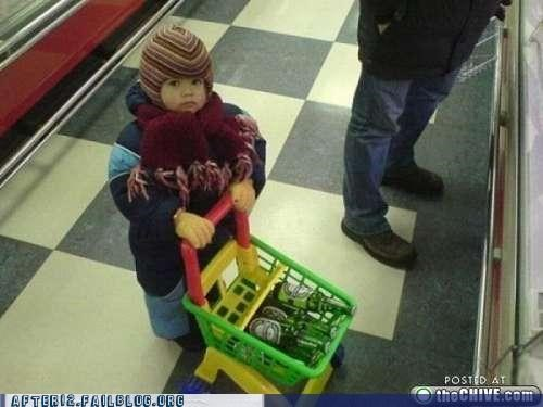 baby Heineken shopping underage - 4824349696