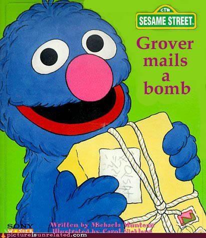bomb grover Sesame Street wtf - 4824357376