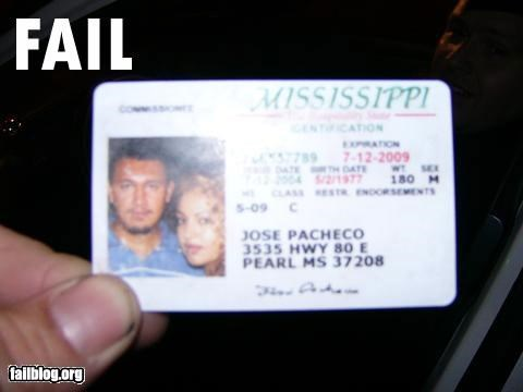 classic drivers license failboat fake id g rated license photoshopped - 4824706560