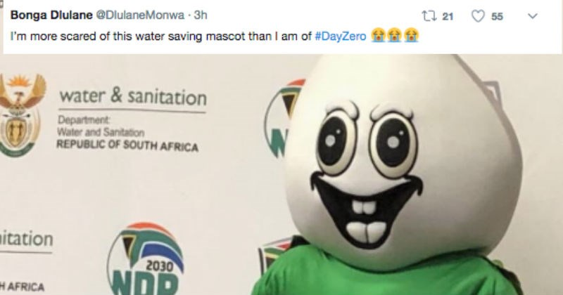 mascot FAIL water conservation South Africa education - 4824837