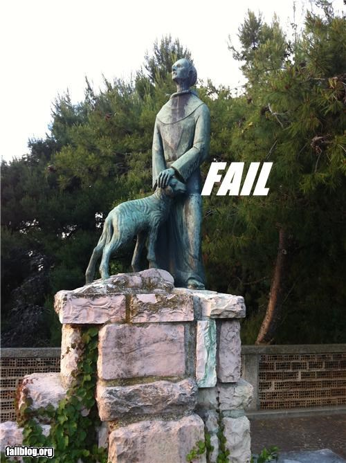 dogs,failboat,innuendo,statue,Things That Are Doing It
