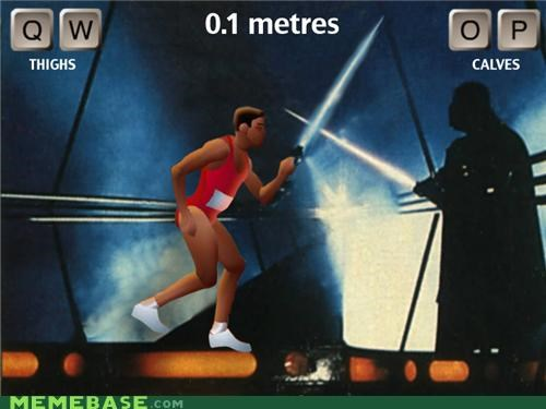 darth vader QWOP skywalker star wars video games - 4825599488