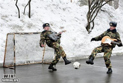 guitar Music russia soccer sports weird wtf - 4825791488