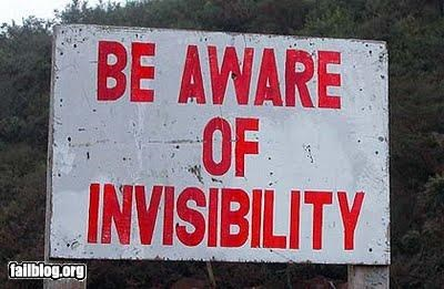 failboat g rated invisibility oddly specific signs warning weird