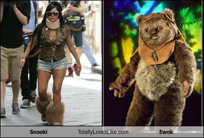 ewok Hall of Fame jersey shore reality stars snooki star wars - 4825823232
