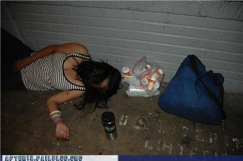 drugs,medication,passed out