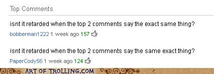 comments,retarded,same,Yahoo Answer Fails
