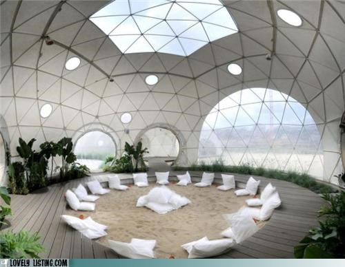 dome,hippies,round