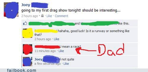 drag,lol,not what you think,parents