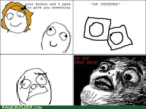 condoms parents Rage Comics they know - 4826168064
