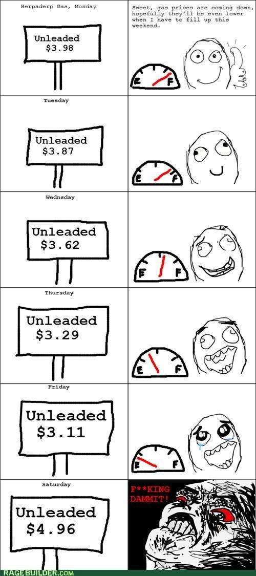 cost gas moneys prices Rage Comics - 4826243328