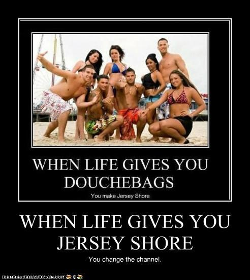 demotivational guidette guido jersey shore mtv Photo television - 4826544896