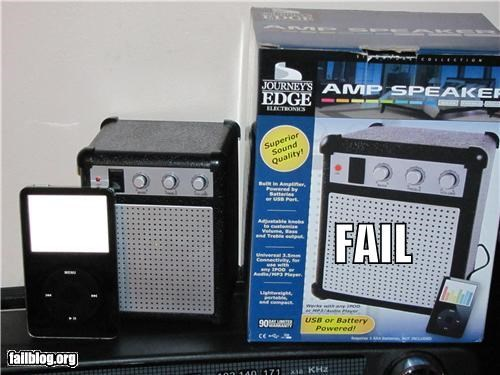 electronics failboat false advertising g rated ipod Music product speakers - 4826574080