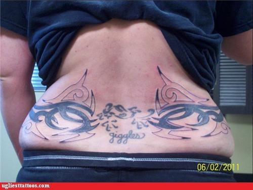 tramp stamps tribal words - 4827330816