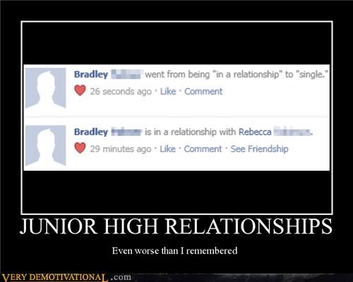 junior high relationships Sad - 4827556608