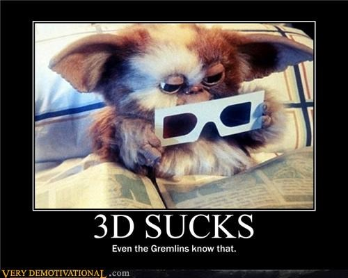 3d,gremlins,hilarious,horrible,mogwai