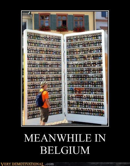 belgium booze hilarious Meanwhile - 4828039680