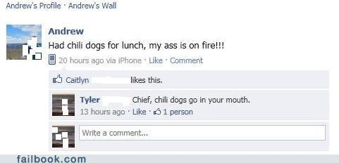 chief,eating,hot dog,witty reply,youre-doing-it-wrong