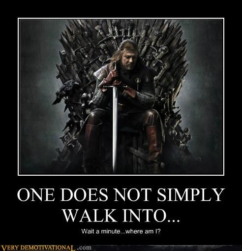 Boromir Game of Thrones hilarious Lord of the Rings mordor