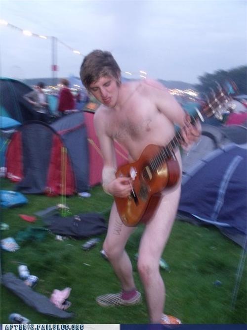 au natural camping guitar naked cowboy - 4828899584