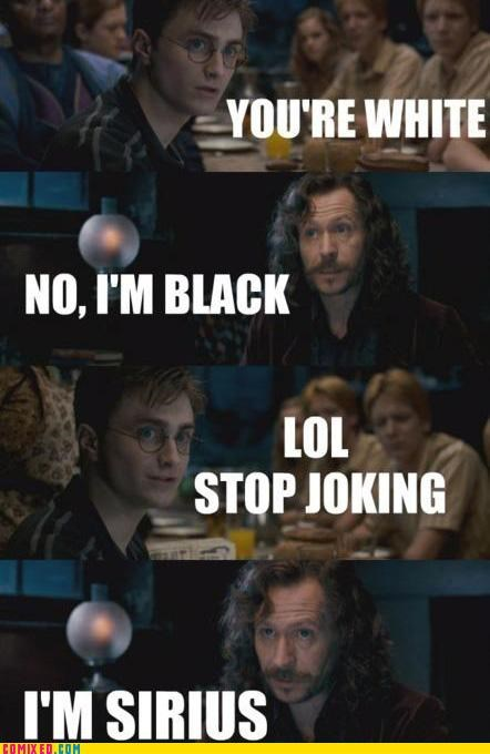 From the Movies Harry Potter joke sirius black - 4828961024