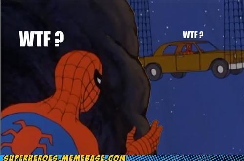 car Saturday Morning Cartoons Spider-Man wtf - 4829045504
