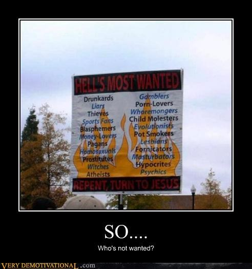 hell,hilarious,religious,sign,wtf