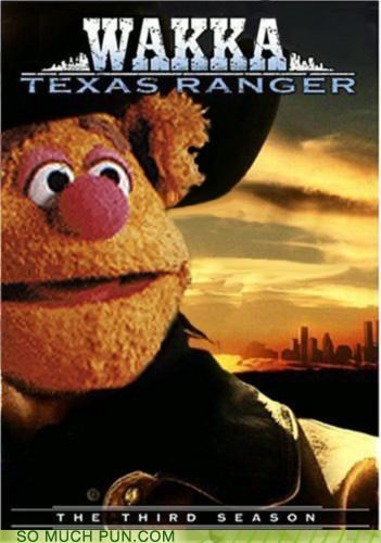 chuck norris Hall of Fame literalism muppets similar sounding wakka walker walker texas ranger - 4829198080