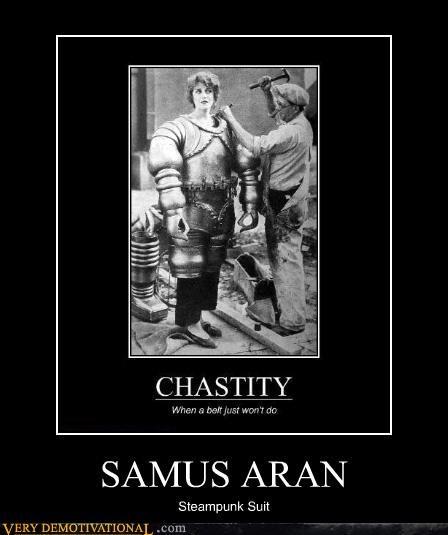 hilarious Metroid old timey samus aran Steampunk - 4829581568