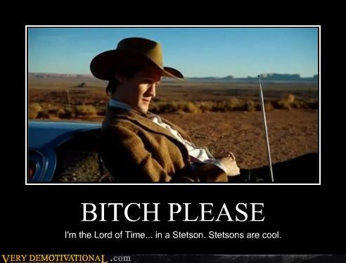 cowboy,doctor who,hat,hilarious,stetson