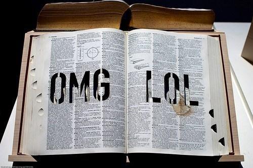 Oxford Dictionaries Onlin,RIP Society,ZOMG LOL NOWAI