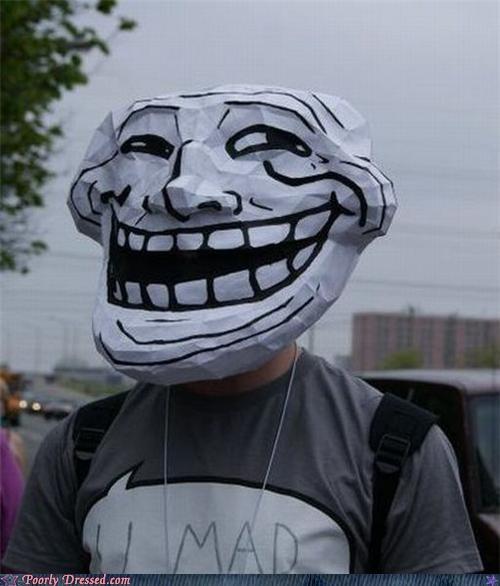 costume meme troll trollface - 4830142720