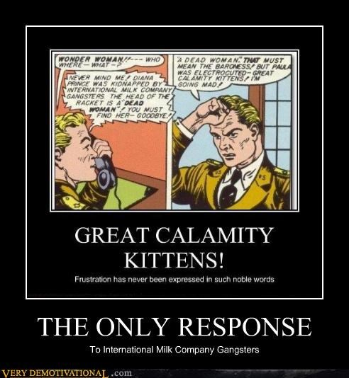 calamity comic gangsters hilarious kitten milk wtf - 4830657280