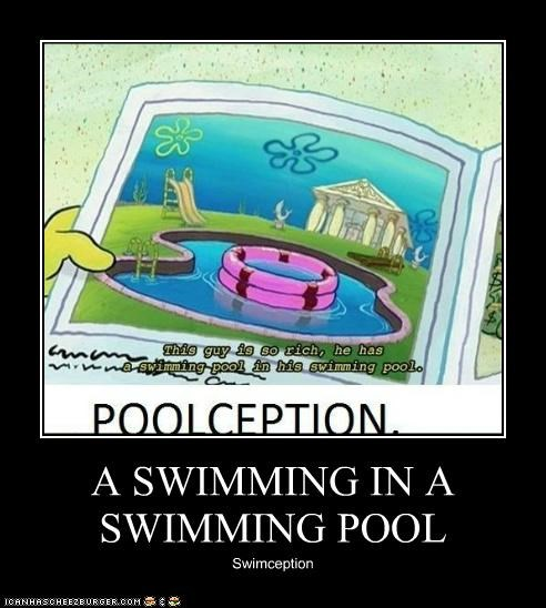A SWIMMING IN A SWIMMING POOL Swimception