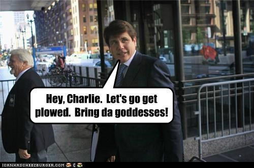 Charlie Sheen,political pictures,Rod Blagojevich