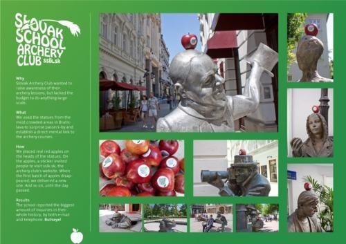 Marketing Campaign Slovak School Archery Clu william tell - 4832869376