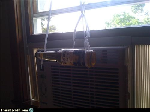 air conditioner beer corona holding it up - 4833175040