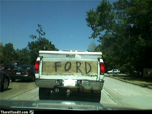 dual use ford spray paint truck wood - 4833723136