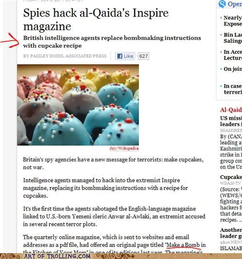 al qaeda cupcakes IRL terrorism - 4833879552