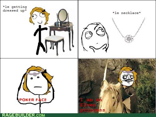 elf,Lord of the Rings,movies,princess,Rage Comics