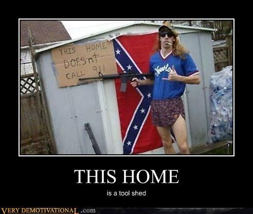 confederate,guns,idiots,tool shed,wtf