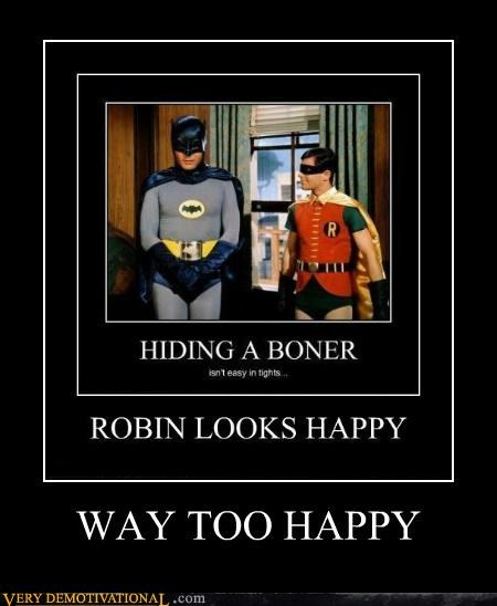 awkward man pole batman hilarious robin wtf - 4834336000